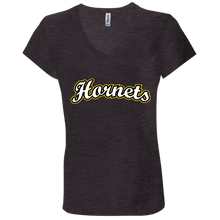 Load image into Gallery viewer, Hornets Ladies' Jersey V-Neck T-Shirt