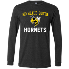 Load image into Gallery viewer, Hinsdale South Hornets Men's Jersey LS T-Shirt