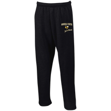 Load image into Gallery viewer, Jazz Band Open Bottom Sweatpants with Pockets