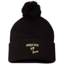 Load image into Gallery viewer, Band Pom Pom Knit Cap