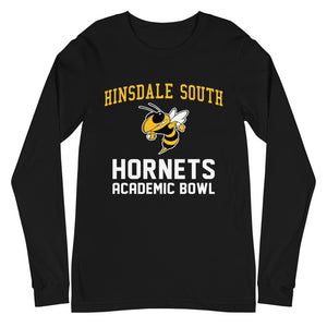Hinsdale South Academic Bowl Unisex Long Sleeve Tee