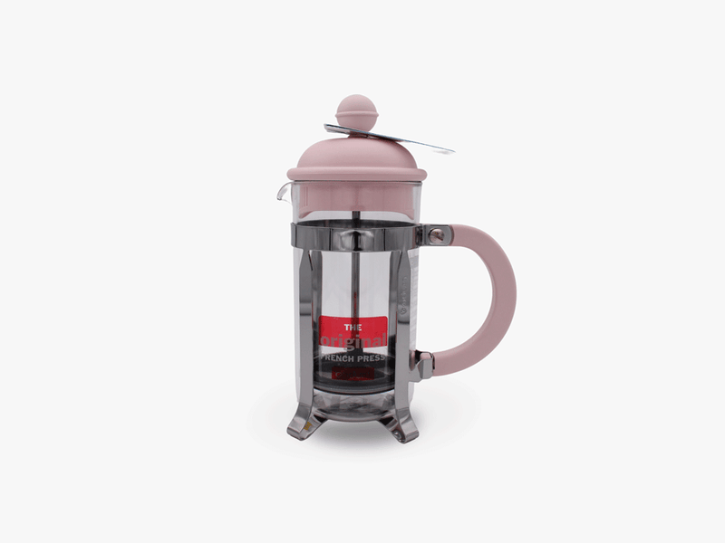 Cafetière Caffettiera French press 3 tasses rose - Bodum