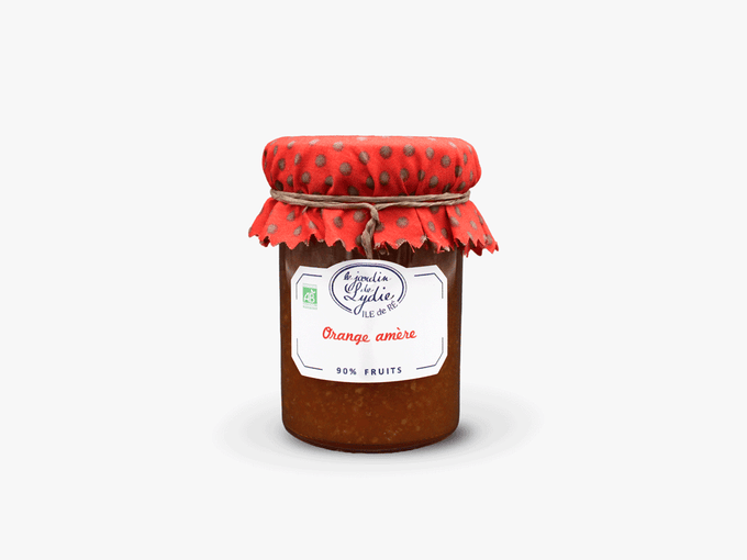 Orange amère - Confiture bio 250g