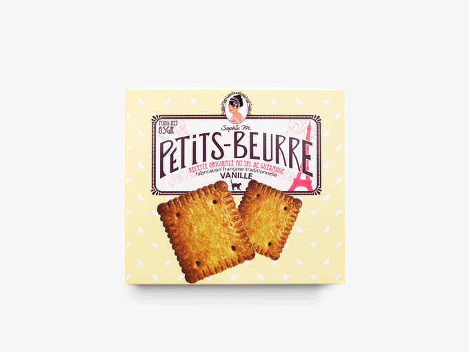 Petits-beurre vanille 65g