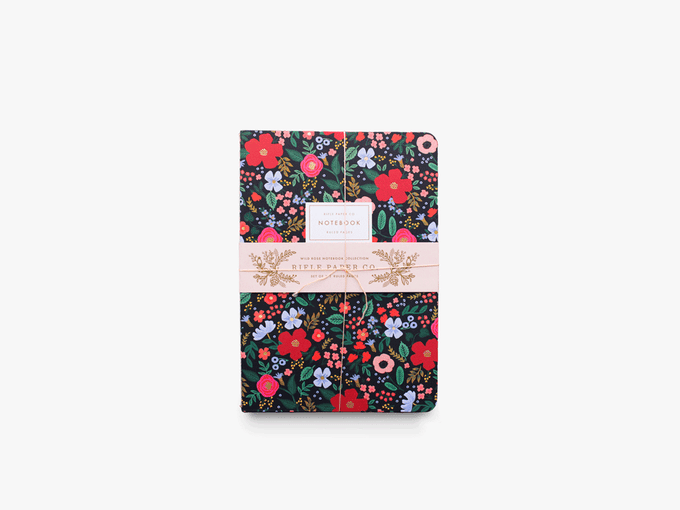 Set de 3 carnets Rifle Paper