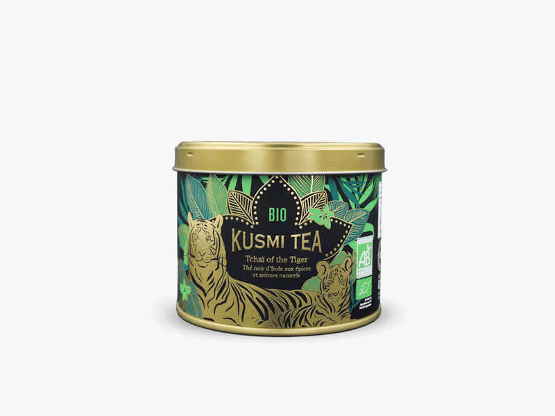 Tchaï of the Tiger - Thé noir bio 100g