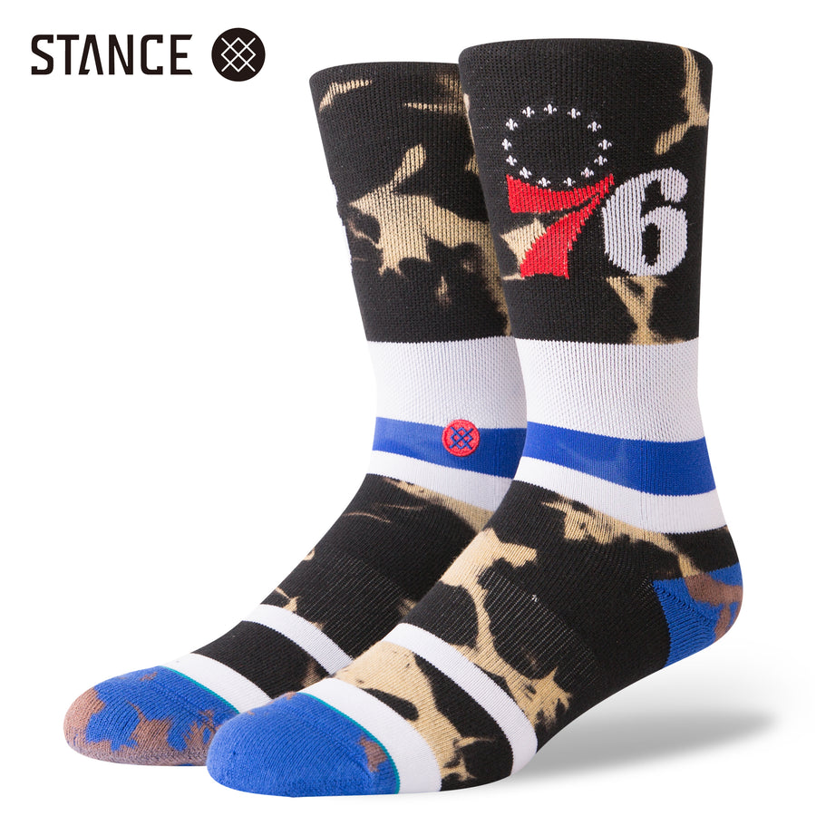 【STANCE】76ERS ACID WASH