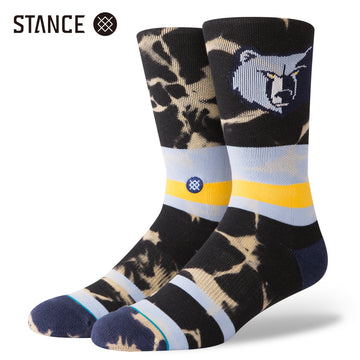 【STANCE】GRIZZLIES ACID WASH