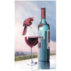 """Wine Connoisseur"" -Limited Edition art print by artist Carm Dix"