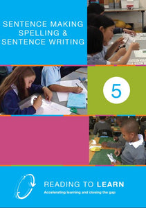 Book Five: Sentence Making, Spelling, Sentence Writing
