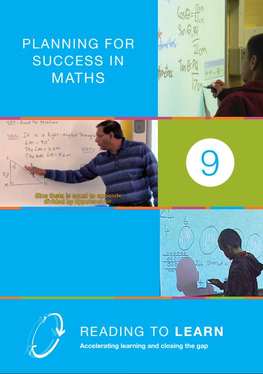 Book Nine: Planning for Success in Maths