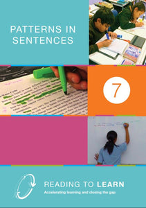 Book Seven: Patterns in Sentences