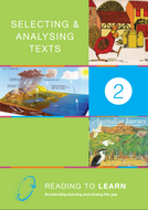 Book Two: Selecting & Analysing Texts