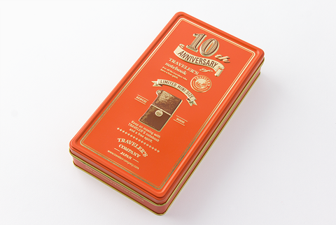 TN 10th Anniversary Tin - Brown
