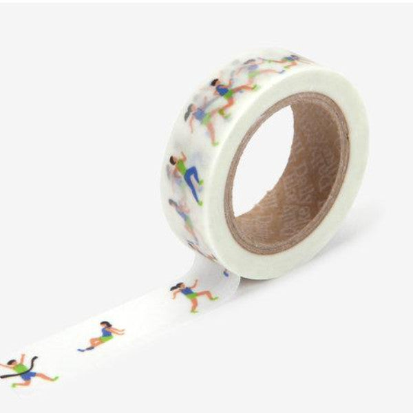 Washi Tape - 15mm - Athlete
