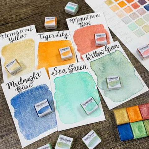 Stoneground Watercolours - Sea to Sky - Small Palette