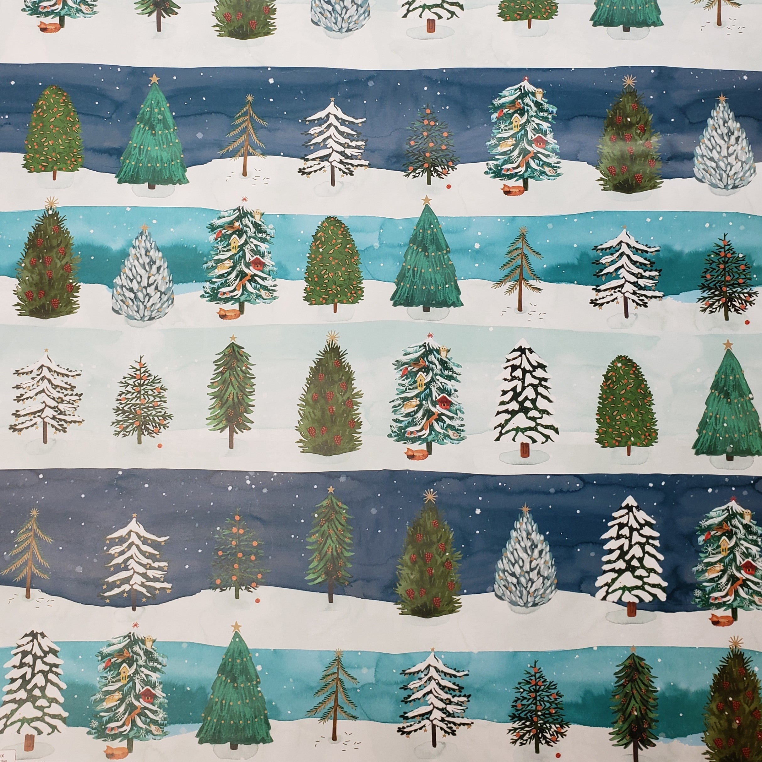 Gift Wrap - Christmas Conifer