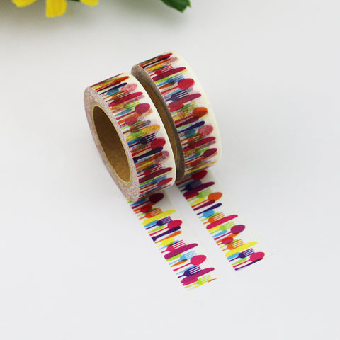 Washi Tape - 15mm - Colourful Utensil