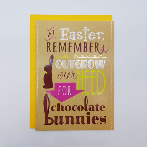 GC - Easter - At Easter Remember We Never Outgrow