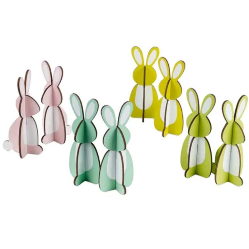 Easterly Decor Bunnies - Set of 8
