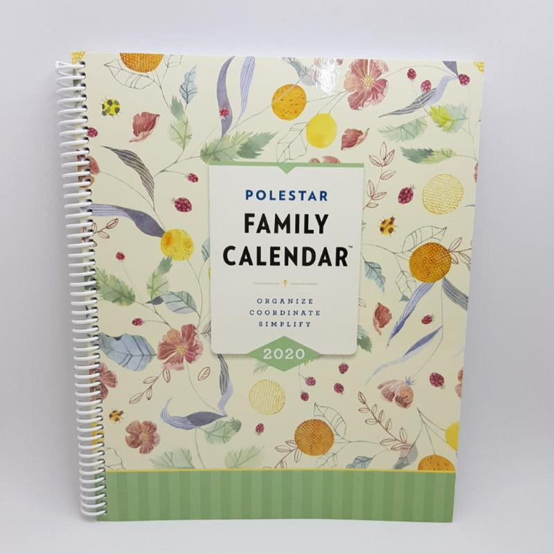 2020 12-Month Large Family Calendar