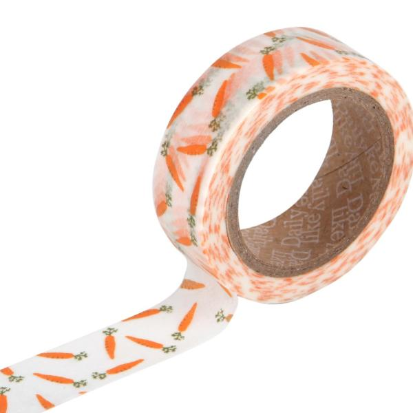Washi Tape - 15mm - Carrot