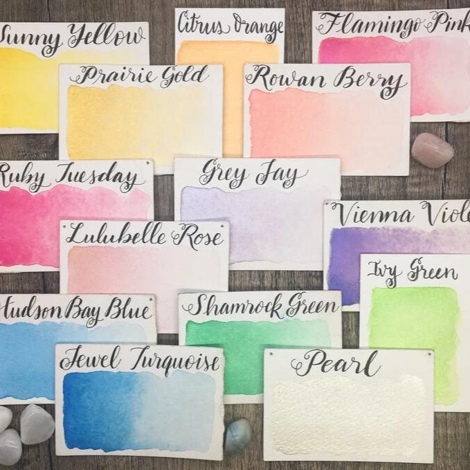 Stoneground Watercolours - Pearlescent - Large Palette