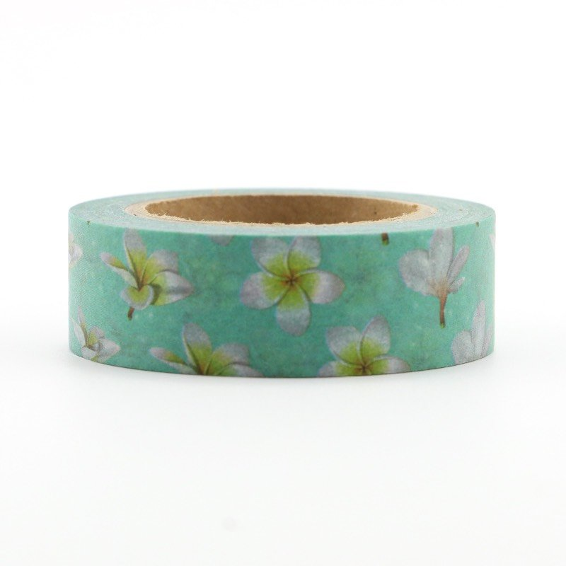 Washi Tape - 15mm - Plumeria