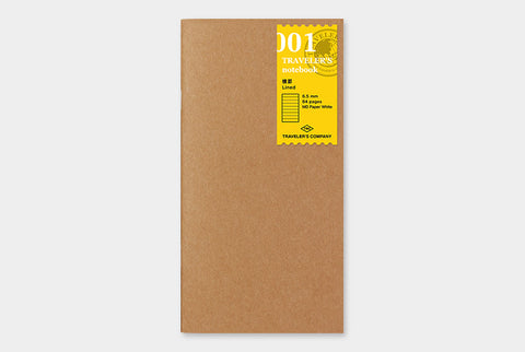 TN Traveler's Notebook Regular Size Refill - 001 - Lined