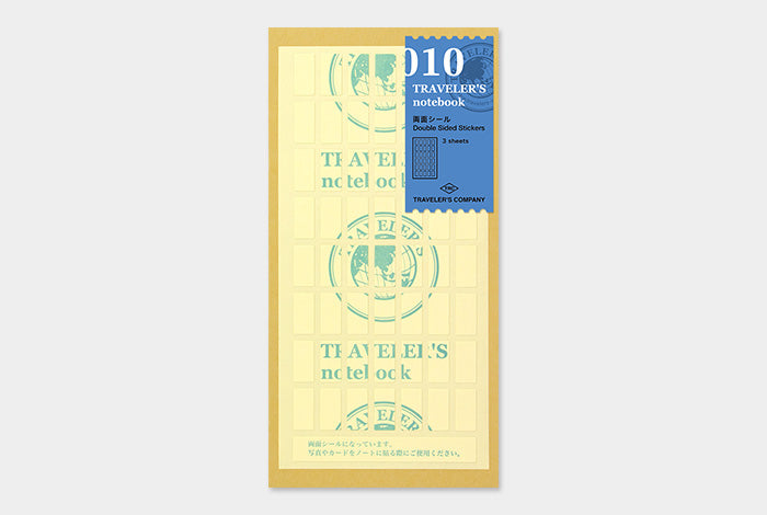 TN Traveler's Notebook Regular Size - 010 - Double-Sided Stickers
