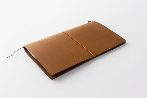 TN Travelers Notebook - Leather - Regular - CAMEL