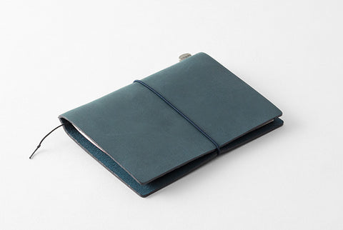 TN Travelers Notebook - Leather - Passport - BLUE