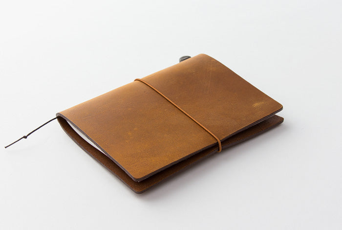 TN Travelers Notebook - Leather - Passport - CAMEL