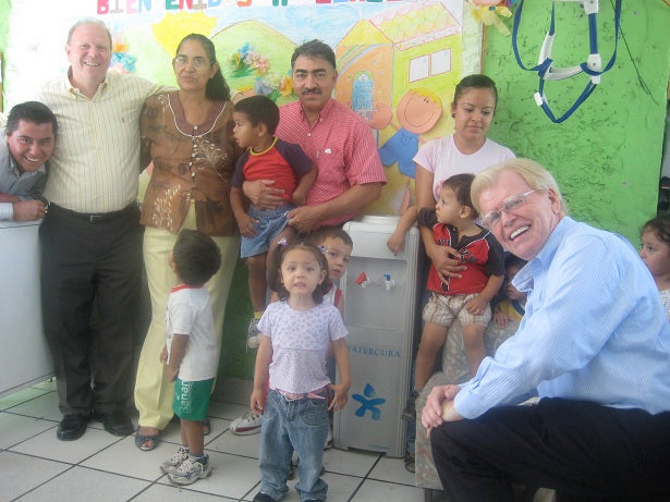 Kevin McGovern and Children in Mexico