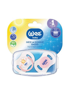 WeeBaby Day & Night Soother set 0-6months
