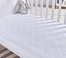 Load image into Gallery viewer, Silentnight Safe Nights Cot Bed Waterproof Mattress Protector - 70cm x 140cm