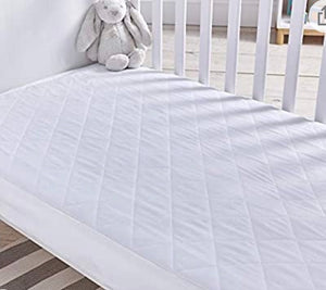 Silentnight Safe Nights Cot Bed Waterproof Mattress Protector - 70cm x 140cm