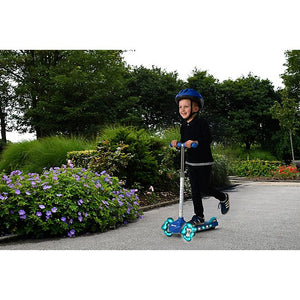 Evo Light Up Mini Cruiser Scooter - Blue (Available in Blue & Black)