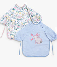 Load image into Gallery viewer, Baby Leckford Bunny Classic Terry Bibs, Pack of 2