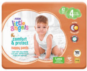 Little Angels Comfort & Protect Nappy Pants Size 4, 9-14kgs