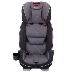 Graco Slimfit LX Group 0+/1/2/3 Car Seat - Slate with ISOcatch Connectors