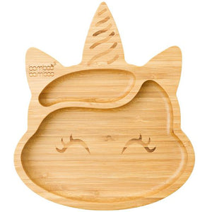 Bamboo Unicorn Suction Plate