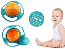 Load image into Gallery viewer, Snack Catcher 360 Degree Rotate No Spill Bowl for Toddlers - Green