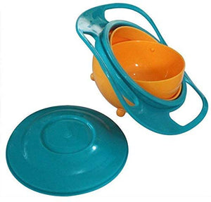 Snack Catcher 360 Degree Rotate No Spill Bowl for Toddlers - Green