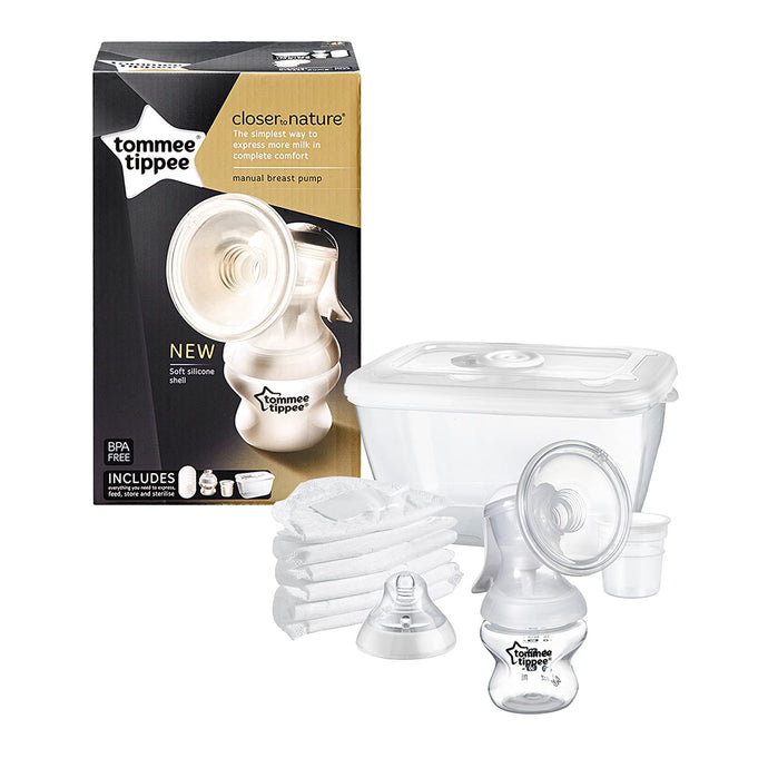 Tommee Tippee Manual Breast pump- with Kit