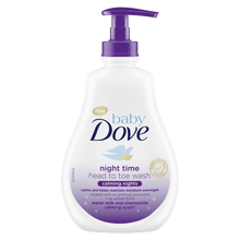 Load image into Gallery viewer, Baby Dove Calming Nights Head to Toe Wash- 400ml