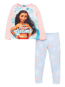 Disney Princess Moana Pyjamas - Multi
