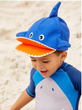 Load image into Gallery viewer, Shark Cap (Blue)