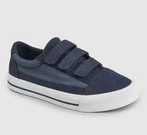Navy Triple Strap Shoes (Older)