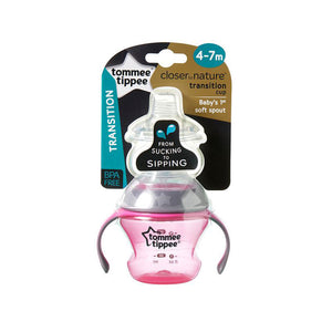 Tommee Tippee First Sips Soft Transition Cup, 150ml- 4+ months